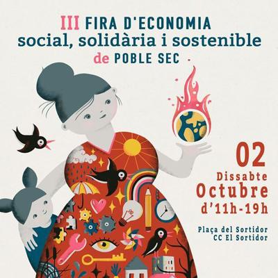 III Fira de l'Economia Social, Solidària i Sostenible de Poble-sec - Barcelona 2021