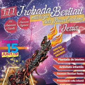 III Trobada de Bestiari Mitològic dels Països Catalans - Jesús 2019