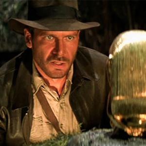 Exposició 'A la recerca dels tresors perduts', Indiana Jones 'A la recerca de l'arca perduda'