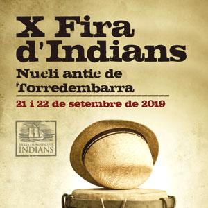 X Fira dels Indians de Torredembarra, 2019