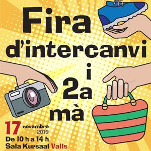 Fira d'Intercanvi i Segona Mà a Valls, 2019