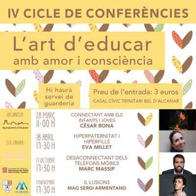 IV Cicle de conferències 'L'art d'educar amb amor i consciència' @ Casal Trinitari Bel