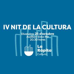 IV Nit de la Cultura - La Ràpita 2019