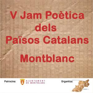 5a edició de la Jam Poètica dels Països Catalans a Monblanc, 2019