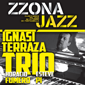 Concert d'IgnasiTerrazaTrio a la Torre de Fontaubella, 2019