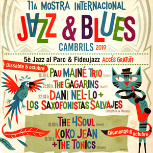 11a Mostra Internacional de Jazz i Blues de Cambrils, 2019