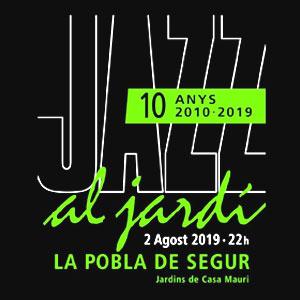 Jazz al Jardí a la Pobla de Segur, 2019