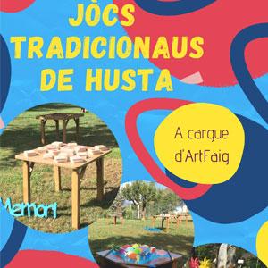 Jocs de Fusta Tradicionals a Vielha