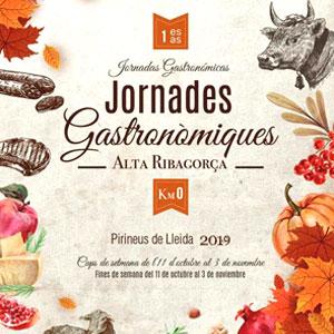 1es Jornades gastronòmiques Km 0 a l'Alta Ribagorça, 2019