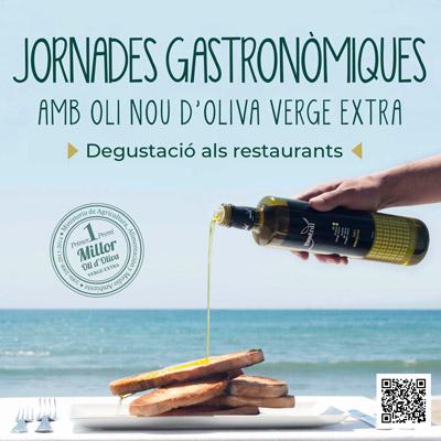 Jornades gastronòmiques amb Oli Nou d'Oliva Verge Extra, Cambrils, 2021