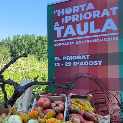 Jornades gastronòmiques L'Horta del Priorat a taula, 2021