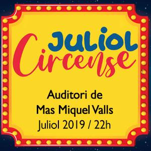 Juliol Circense a Valls, 2019