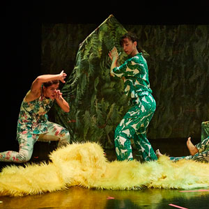 Espectacle 'Jungla' de Big Bouncers
