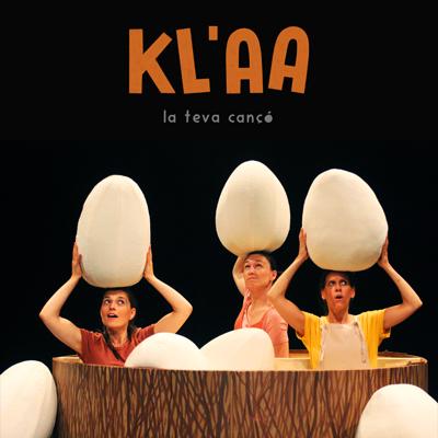 Espectacle familiar 'Kl'aa, la teva cançó' d'Inspira Teatre