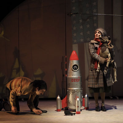 Espectacle familiar 'Laika' de Xirriquiteula Teatre