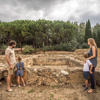 Visita comentada 'Entre la mar i la Via Augusta', Vil·la romana de la Llosa, 2020