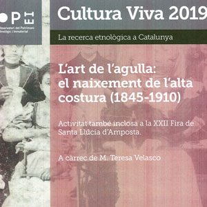 Conferència 'L'art de l'agulla: el naixement de l'alta costura' - Museu de les Terres de l'Ebre 2019