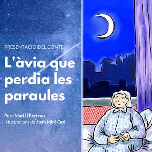 Llibre 'L'àvia que perdia les paraules' de Pere Martí i Bertran