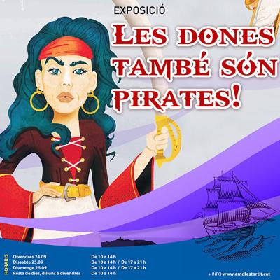 Exposició 'Les dones també són pirates!'