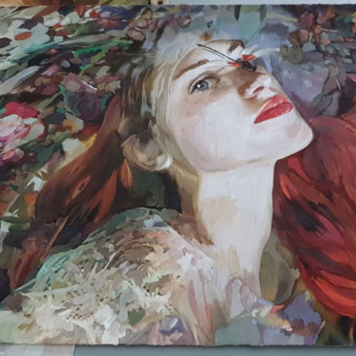 Exposició 'Quimera' de Lily Brik, Lleida, 2020