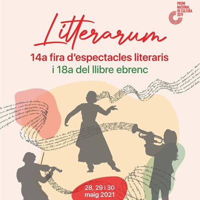 Litterarum i Fira del Llibre Ebrenc - Móra d'Ebre 2021