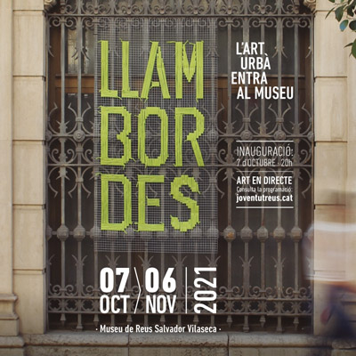 Exposició 'Llambordes, l'art urbà entra al Museu', Reus, 2021