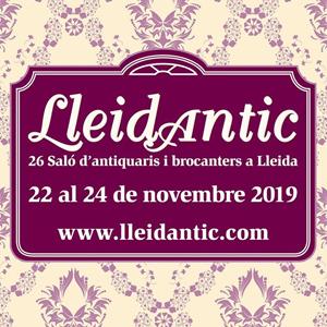 26a edició del LleidAntic, el Saló d'Antiquaris i Brocanters de Lleida, 2019