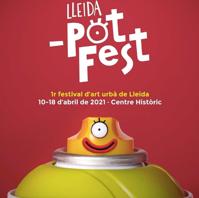 Lleida _potFest, Festival d'Art Urbà de Lleida, 2021