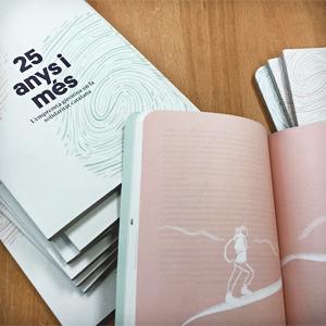 Llibre '25 anys i més. L'empremta gironina en la solidaritat catalana' de la Coordinadora d'ONG Solidàries