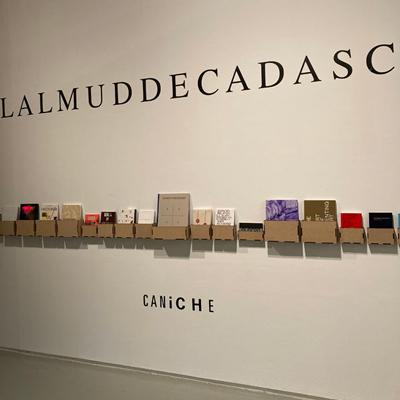 Exposició de l'editorial Caniche a La Panera, Lleida, 2021