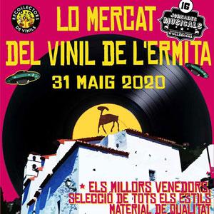 Lo mercat del vinil de l'ermita - Ulldecona 2020