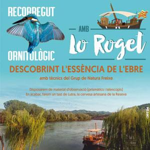 Recorregut ornitològic amb Lo Roget - Ascó 2019