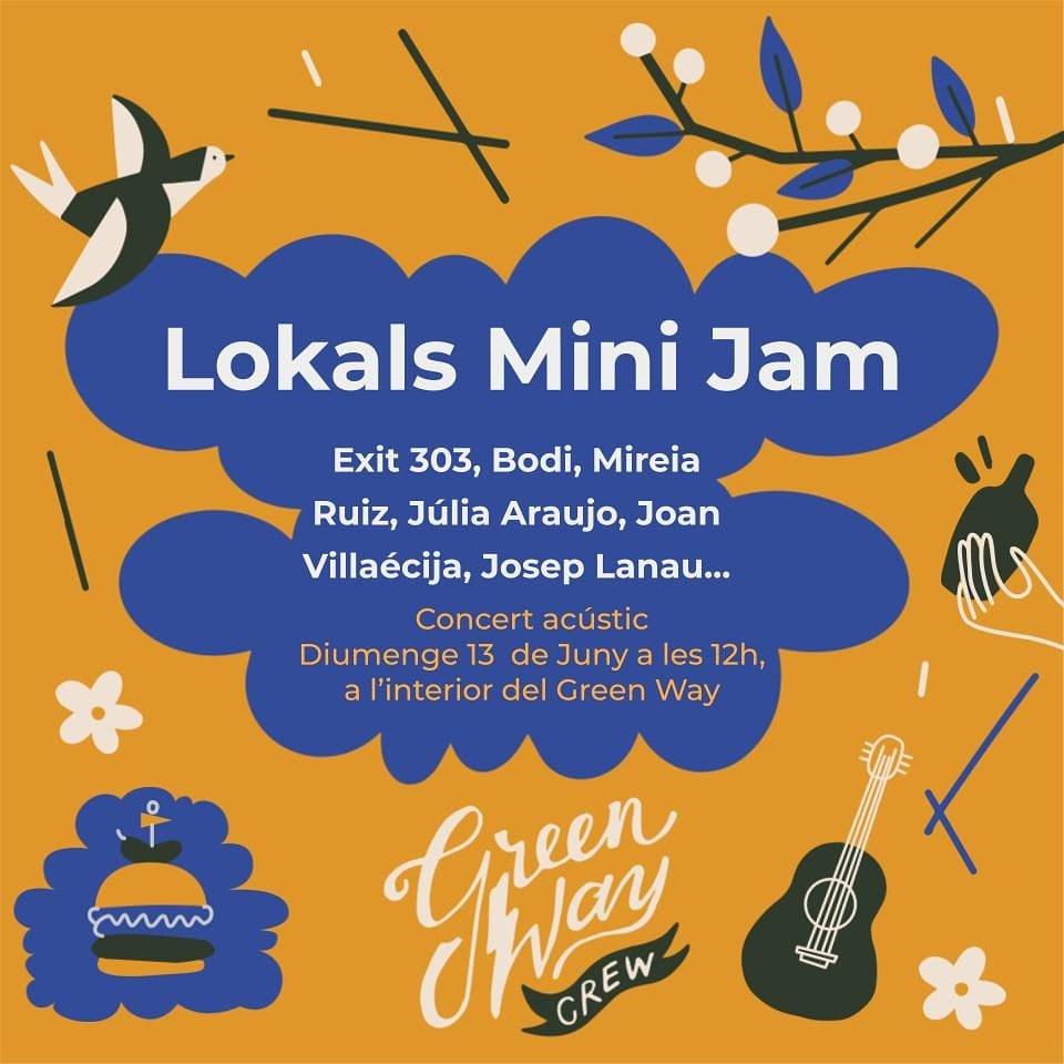 Lokals Mini Jam - Greenway Tortosa 13 de juny 2021