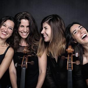 Les Mademoicelli, Anna Costa, Laia Puig, Andrea Amador, Amaia Ruano, quartet de corda