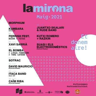 Maig a La Mirona, 2021