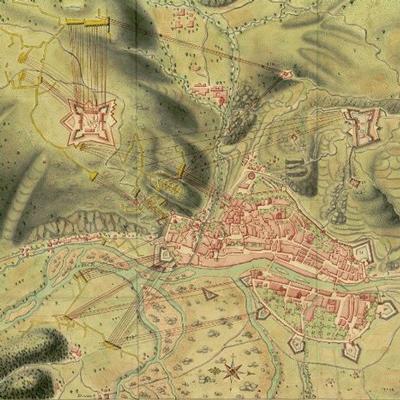 Exposició 'Plànols de castells, viles (...) de les terres gironines l'any 1719'