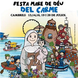 Festa de la Mare de Déu del Carme de Cambirls, 2019