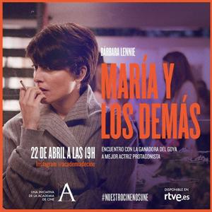 Academia de Cine, Bárbara Lennie, Nuestro Cine Nos Une, streaming, instagram