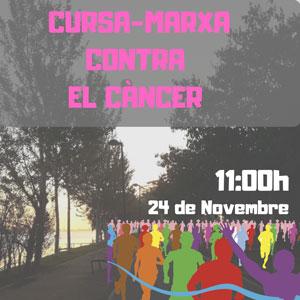Cursa-marxa contra el Càncer - Sant Jaume d'Enveja 2019