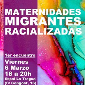 Trobada 'Maternitats migrants racialitzades' - Barcelona 2020