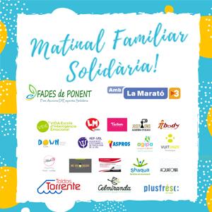 Matinal Familiar Solidària a Lleida, 2019