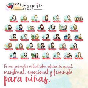 Trobada virtual sobre educació sexual, menstrual, emocional i feminista per a nenes