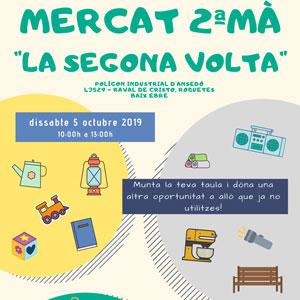 Mercat de 2a mà 'La Segona Volta' - Roquetes 2019