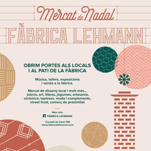 Mercat de Nadal a la Fàbrica Lehmann - Barcelona 2019
