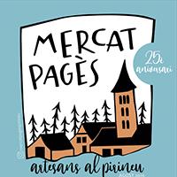 Part del cartell del Mercat Pagès d'artesans al Pirineu