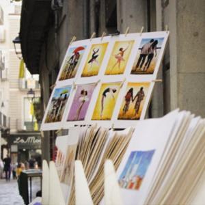 Mercat d'art i pintura del Carrer Abeuradors, Girona
