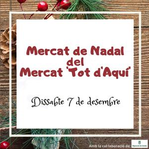 Mercat de Nadal del mercat 'Tot d'aquí' a Artesa de Segre, 2019