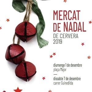 Mercat de Nadal de Cervera, 2019
