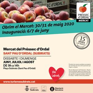Mercat del Préssec d'Ordal, Subirats, 2020