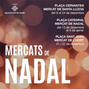 Mercats de Nadal de Lleida, 2019